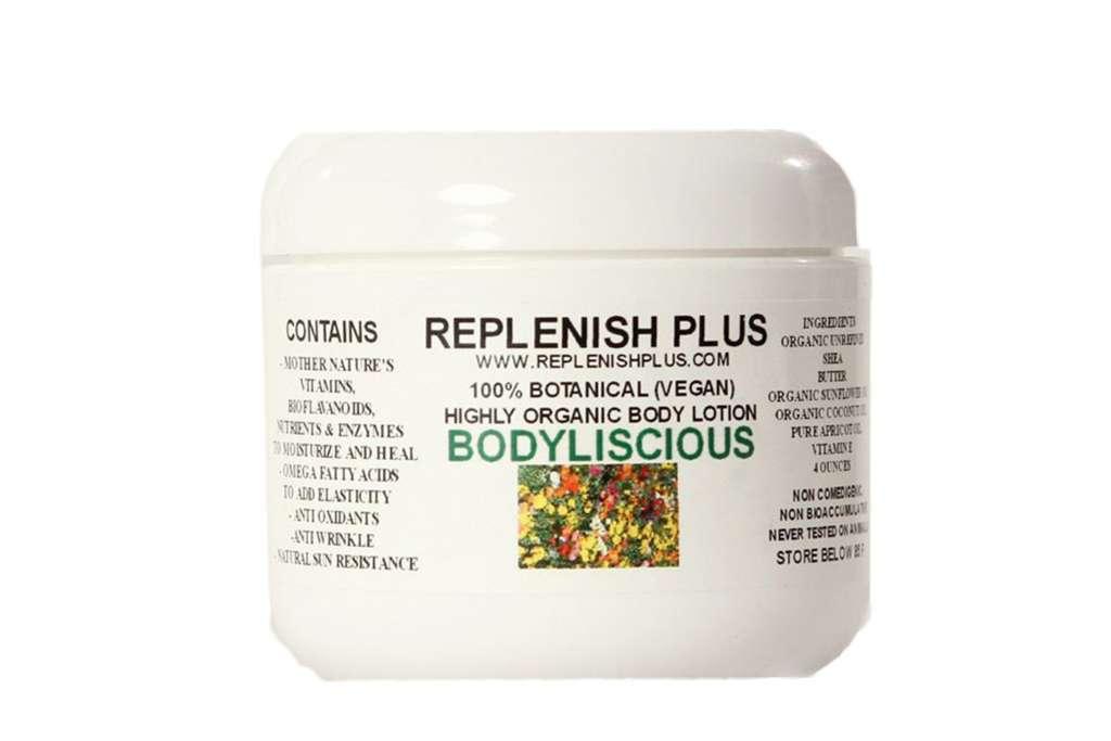bodyliscious organic body lotion